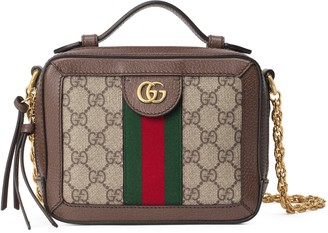 Gucci Mini Ophidia GG Supreme Canvas Shoulder Bag