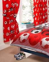 Fashion World It's A Goal Football Curtains