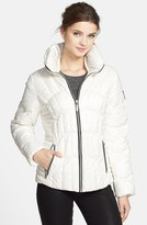 GUESS Fitted Down & Feather Jacket (Online Only)