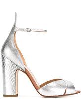 Francesco Russo textured sandals - women - Leather - 36