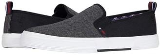 Ben Sherman Bradford Slip-On (Black Nylon) Men's Shoes