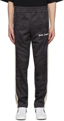 Palm Angels Black Croco Track Pants