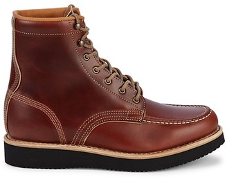 Timberland American Craft Moc-Toe Leather Boots