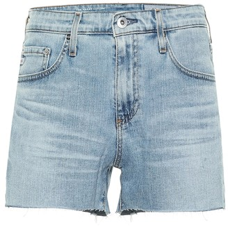 AG Jeans Mikkel high-rise denim shorts