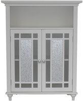 Elegant Home Fashions Jezzebel Double Door Floor Cabinet by