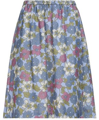 YMC YOU MUST CREATE Knee length skirt