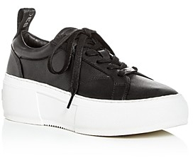 J/Slides Women's Courto Low-Top Platform Sneakers