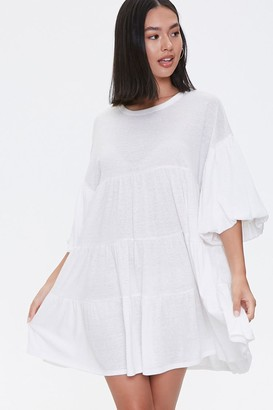 Forever 21 Tiered Mini Dress
