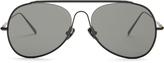 Acne Studios Spitfire large aviator sunglasses
