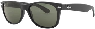 Ray-Ban 2132 New Wayfarer Sunglasses Matte Black