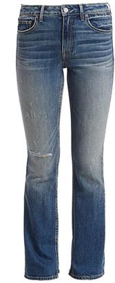 TRAVE Faye Flared Split Hem Jeans