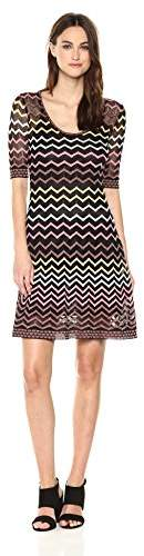 M Missoni Women's Lurex Zig Zag Dress