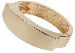 Topshop Gold hinged cuff bracelet