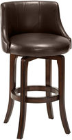 JCPenney Hillsdale House Hartman Swivel Upholstered Barstool with Back