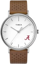 Timex Alabama Crimson Tide Bright Whites Tribute Collection Watch