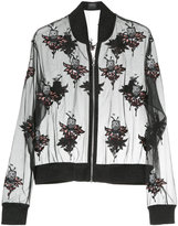 Markus Lupfer patch detail transparent bomber