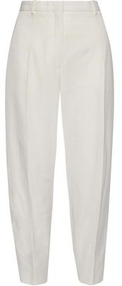 Jil Sander Cropped Canvas Tapered Pants