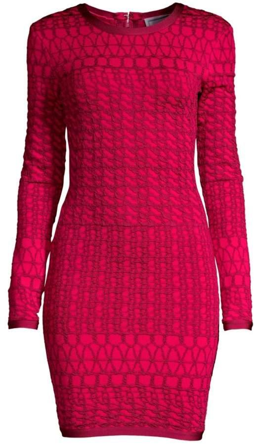 e46cf5d6f25 Long Sleeve Patterned Dress - ShopStyle UK