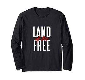 Fourth Of July Gift American Pride Quote Red White Long Sleeve T-Shirt