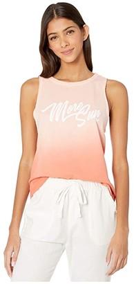 Roxy More Sun Muscle Dip-Dye Tank Top (Terra Cotta) Women's Clothing