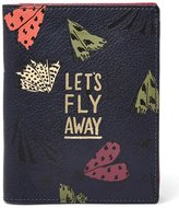 Fossil Let s Fly Away Moth-Print RFID Passport Case
