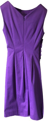 Christian Dior Purple Polyester Dresses