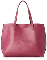 under one sky Dusty Rose/Chocolate Reversible Tote