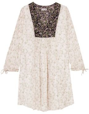 Paul & Joe Fauvette Floral-print Silk-georgette Dress