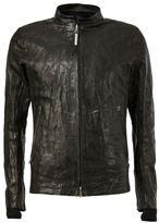 Isaac Sellam Experience - zip front lambskin jacket - men - Lamb Skin/Wool - L