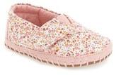 Toms Infant Girl's 'Alpargata' Crib Shoe