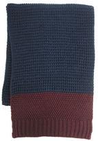 Hudson North Colourblock Waffle Knit Scarf