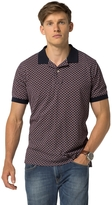 Tommy Hilfiger Classic Fit Micro Print Polo