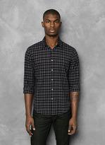 John Varvatos Slim Fit Plaid Shirt