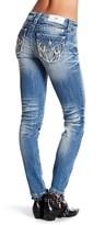 Miss Me Distressed Embellished Skinny Jeans