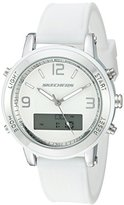 Skechers Women's SR6004 Analog-Digital Display Quartz White Watch