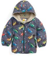 Toddler Boy's Mini Boden Hooded Anorak