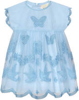 Gucci Baby tulle dress with embroidery