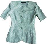 Jean Louis Scherrer Jean-louis Scherrer Turquoise Jacket for Women Vintage