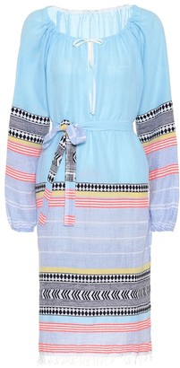 Lemlem Sofia cotton-blend tunic dress