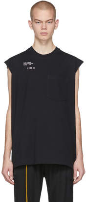 Song For The Mute Black Set Sleeveless T-Shirt