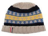 Moncler Patterned Wool Beanie