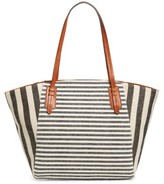 Sole Society Rooney Trapeze Tote - Black