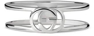 Gucci Interlocking G thin open band