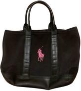 Polo Ralph Lauren Black Cloth Handbags
