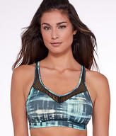 Wacoal Medium Control Print Wire-Free Sports Bra