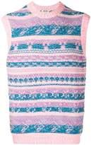 Acne Studios jacquard knitted vest