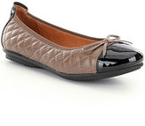 Josef Seibel Pippa 25 Quilted Leather Bow Detail Ballet Flats