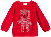 First Impressions Teddy Bear-Print Velour T-Shirt, Baby Girls (0-24 months), Created for Macy's