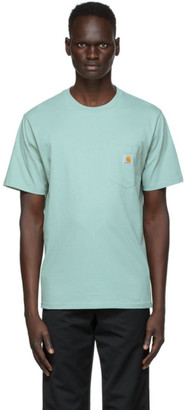 Carhartt Work In Progress Green Pocket T-Shirt