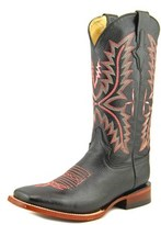 Ferrari Ferrini 810930410 Round Toe Leather Western Boot.